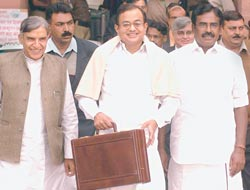 P. Chidambaram: Will he keep his promise to taxpayers?