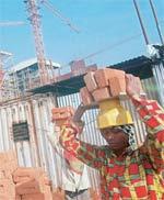 Building blocks: Jain Steel and Power's construction site