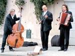 Street musicians doing their act