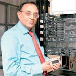 Axis Bank's Ramani: Banking on m-banking services