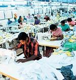 An export unit in Tirupur