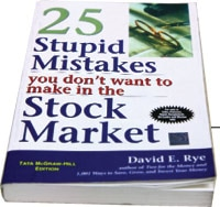 25 stupid mistakes you don't want to make in the stock market