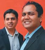 Srinath (L) and Disley