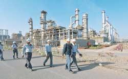 The Reliance refinery at Jamnagar