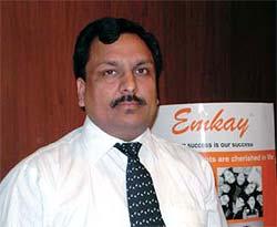 Sandeep Singal, Co-head, Institutional Derivatives Business Emkay Share & Stock Brokers