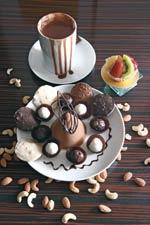 Irresistible chocolates