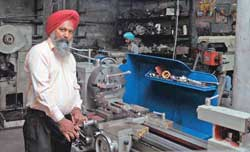 Innovation at its best: Tiwana with his mechanical wonders