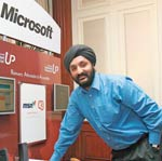 Jaspreet Bindra, Country Manager (Online Business Services), Microsoft India