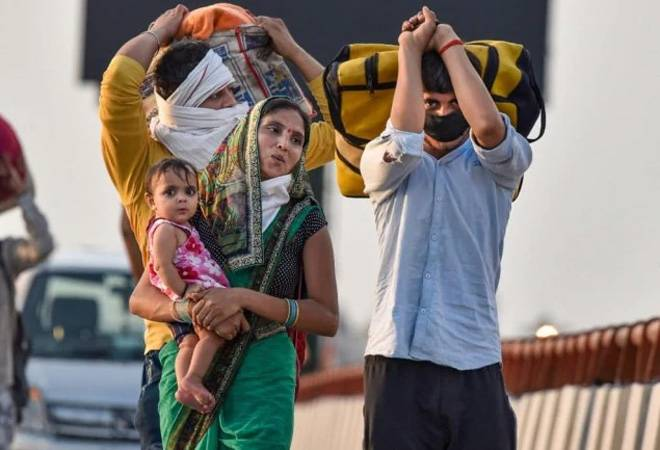 Coronavirus crisis: Only 20 lakh out of 8 crore migrants got free food grains so far
