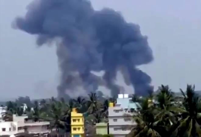 Aircraft crash: 2 jets of Surya Kiran Aerobatics Team crash in Bengaluru; 1 pilot dead
