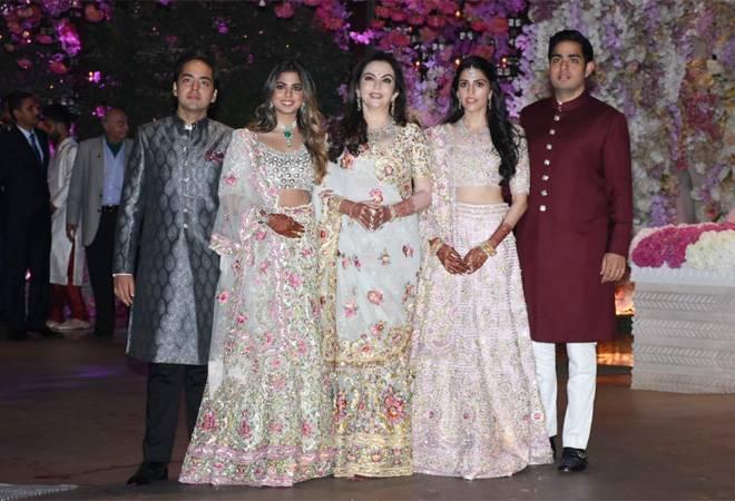 Akash Ambani-Shloka Mehta engagement party: Friends and family gather to bless the couple