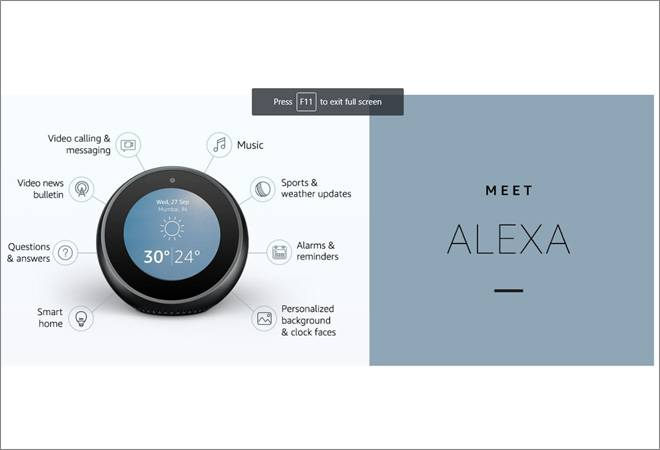 Amazon expands Echo portfolio, launches Echo Spot in India at special price of Rs 10,499