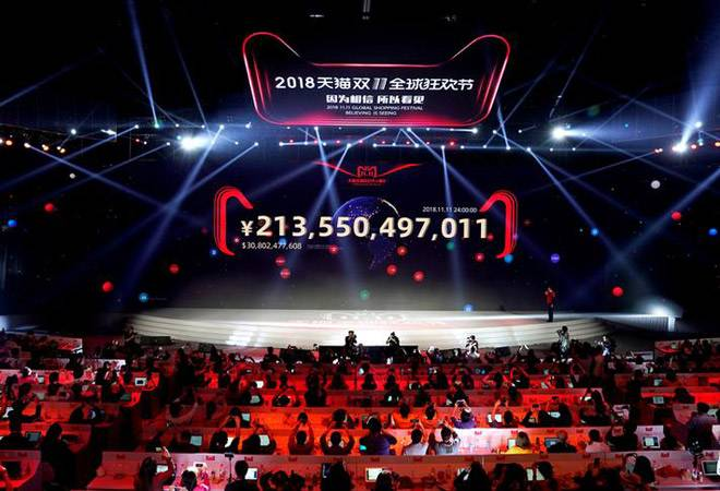 Chinese ecomm giant Alibaba posts sales of over $30 billion during 24-hour retail frenzy