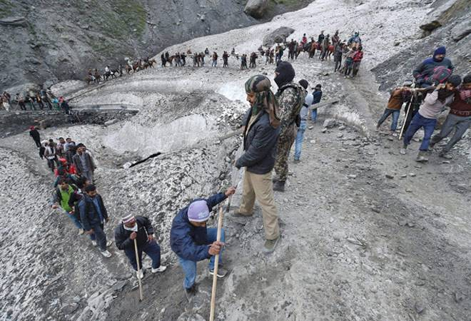 Amarnath Yatra terror attack LIVE updates: NSA Ajit Doval to brief PM Narendra Modi, HM Rajnath Singh chairs meet with top officials