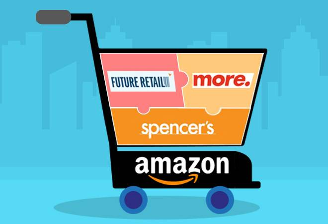 Amazon on a buying spree in India! Spencer's added to cart with Future Retail, More
