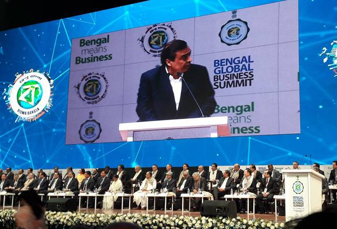 Bengal Global Business Summit 2019: Mukesh Ambani's Reliance Industries to invest Rs 10,000 crore in state