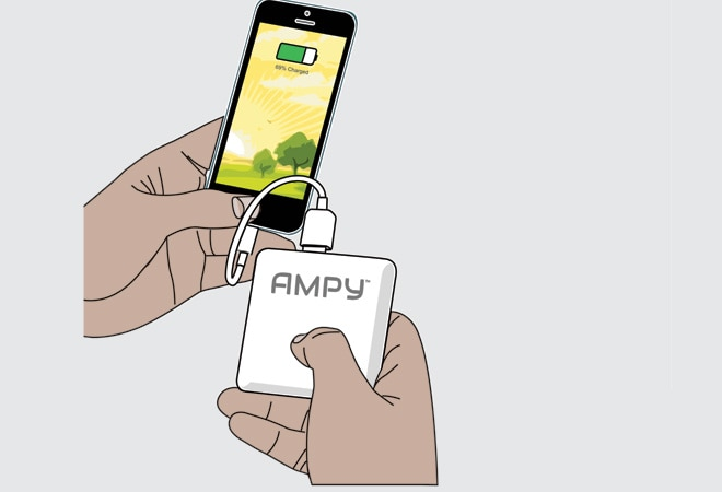 AMPY: Using the Body's Motion to Recharge