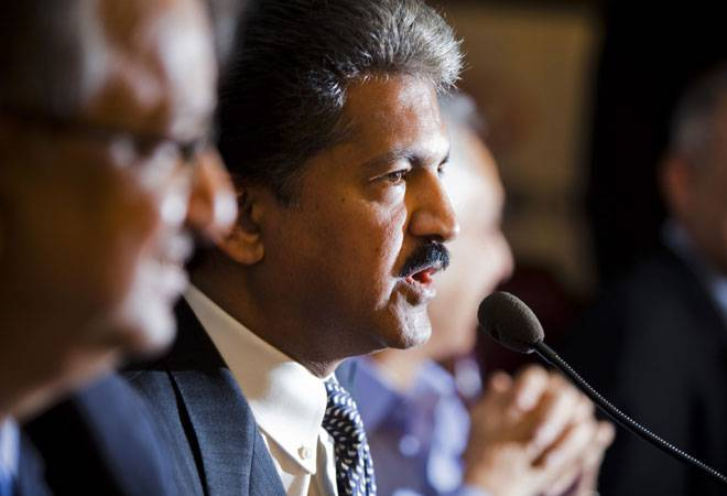 Chairman and managing director of Mahindra Group Anand Mahindra