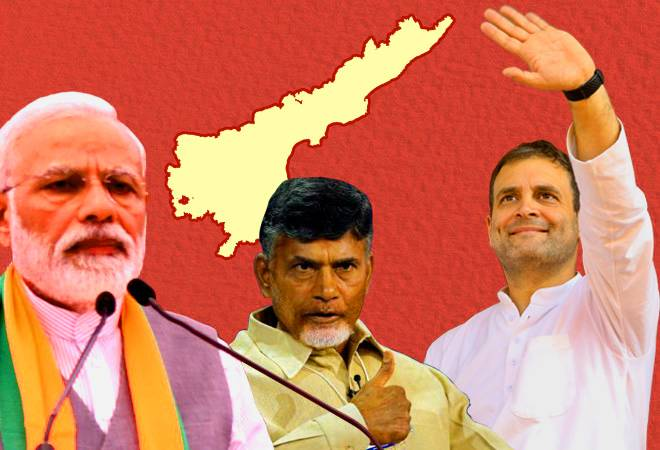 Lok Sabha election 2019: Andhra Pradesh votes today; TDP, Congress and YSRCP fight for 25 seats