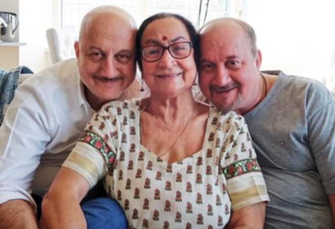 Anupam Kher's mother, brother, sister-in-law, niece test positive for coronavirus