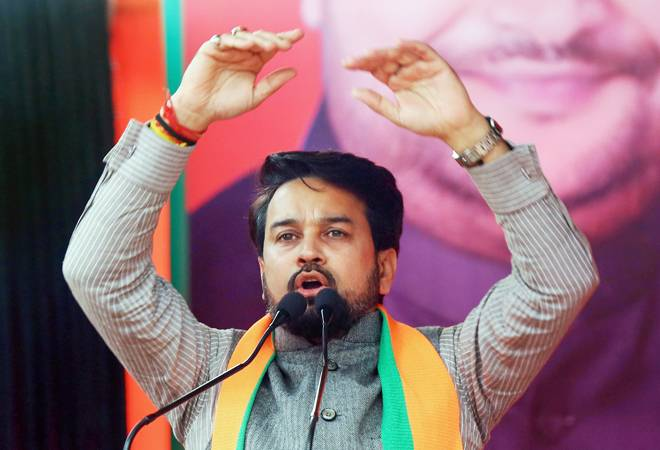 Delhi Assembly Election 2020: EC asks BJP to remove Anurag Thakur, Parvesh Singh from list of star campaigners
