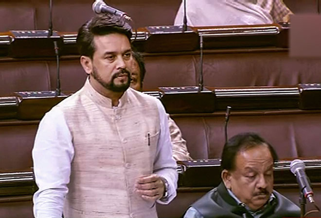 Banks wrote off NPAs worth Rs 5.85 lakh crore in 3 years: Anurag Thakur