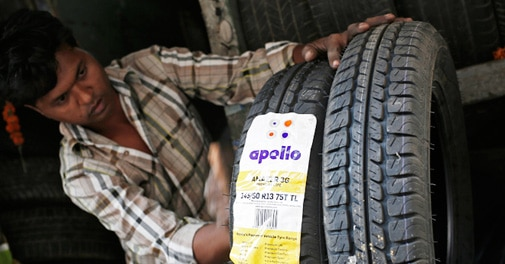 Apollo Tyres shares rise after Cooper deal collapse