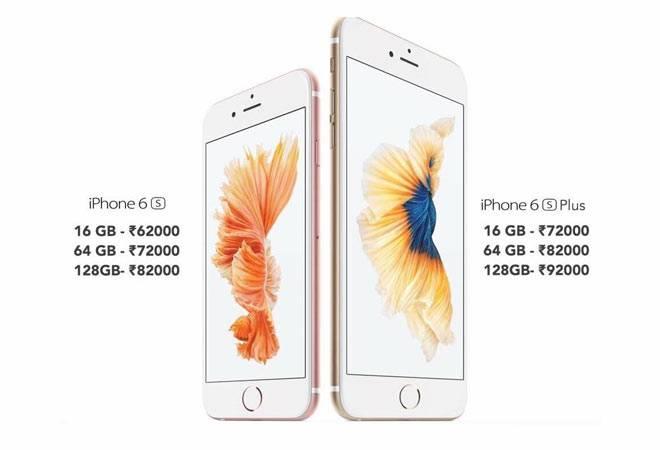 Apple Iphone 6s Iphone 6s Plus India Price Revealed