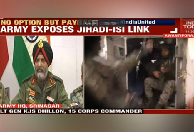 'You pick up a gun, you are dead': Indian Army says terrorists will be killed, blames Pakistan's ISI for Pulwama attack