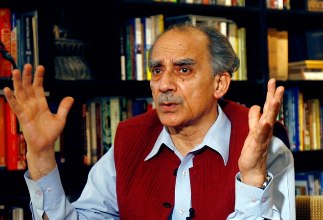Arun Shourie, former union minister in the NDA government