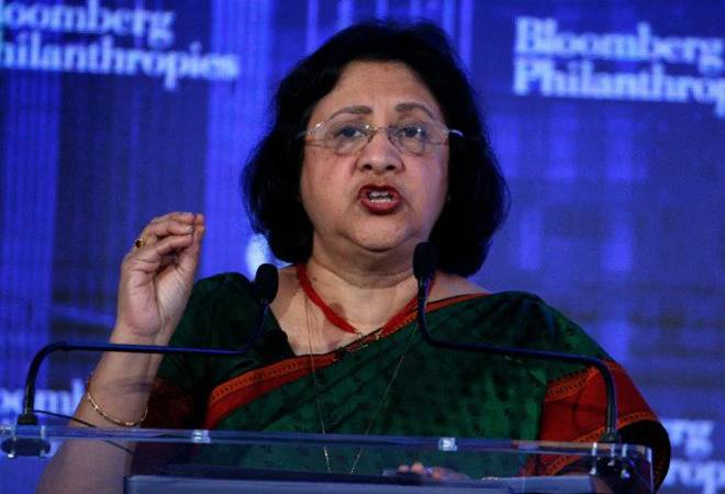 Former SBI chief Arundhati Bhattacharya hired as CEO of Salesforce India