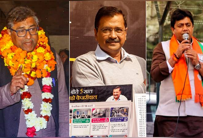 New Delhi Election Results: Arvind Kejriwal leads in early trends as AAP eyes third term
