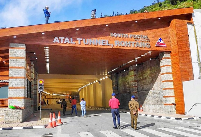 PM Modi inaugurates strategic Atal Tunnel; all you need to know about longest highway tunnel in world