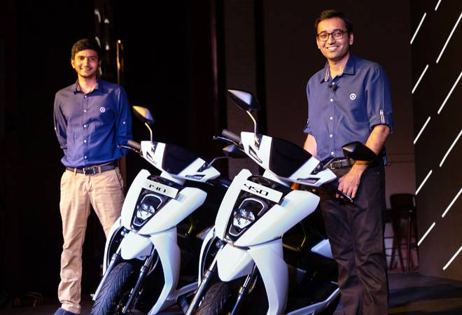 Ather Energy launches performance electric scooters at Rs 1.09-1.24 lakh