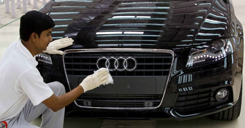Audi to hike prices by up to 5% from January