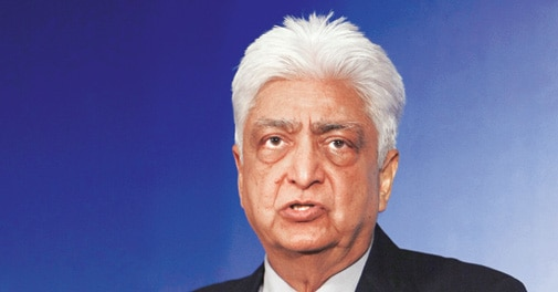 Azim Premji, chairman and founder of Wipro