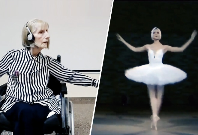 Power of music! Former ballerina with Alzheimer's reenacts Tchaikovsky's Swan Lake