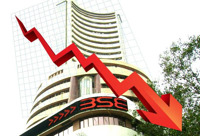 Investors lose Rs 2.2 lakh crore after Sensex falls 1,000 points from record high