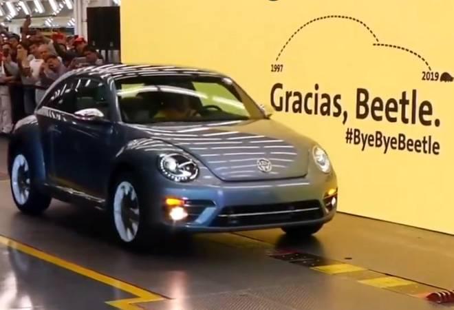 Volkswagen says goodbye to iconic Beetle