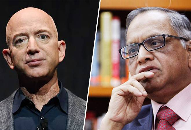 Jeff Bezos, Narayana Murthy team up to challenge Zomato, Swiggy with this new venture