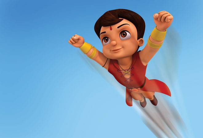 It's a bird… It's a plane… It's super Bheem!