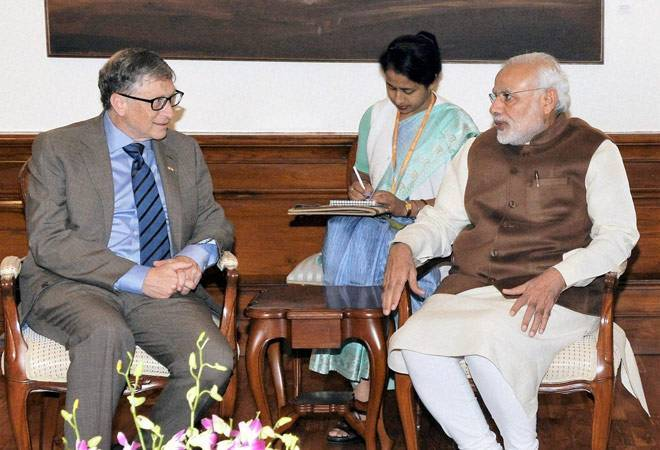 This is what Bill Gates had to say on demonetisation