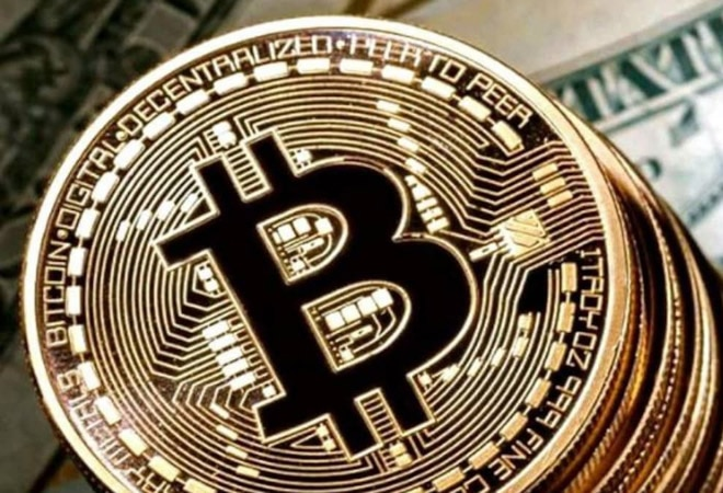 Bitcoin fell as much as 5.6% to $45,914 in Asian trading hours, after having posting a record high of $49,714.66 on Sunday