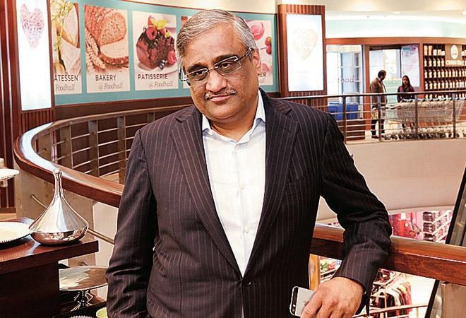 Future Group chief Kishore Biyani.