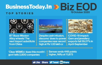 Biz EOD: India's mission alloy wheels; discoms' dues to gencos near record high; govt tells firms to clear MSMEs' dues