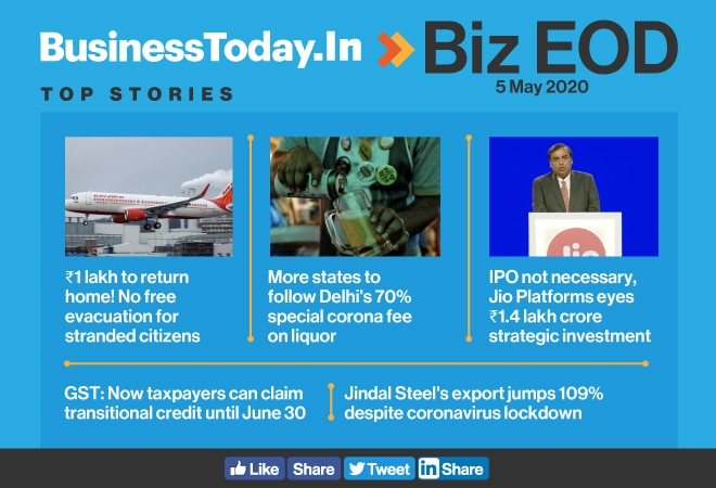 Biz EOD: No free rides home; special corona tax on alcohol; JSPL posts highest-ever exports