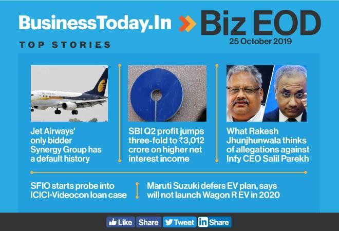 Biz EOD: SBI profit jumps three-fold; SFIO probes into ICICI-Videocon loan case; Maruti defers EV plan