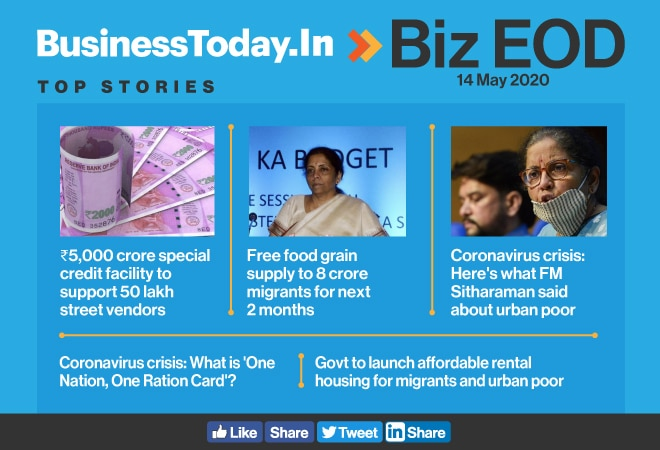 Biz EOD: Credit for street vendors; free food to migrants; affordable houses for urban poor