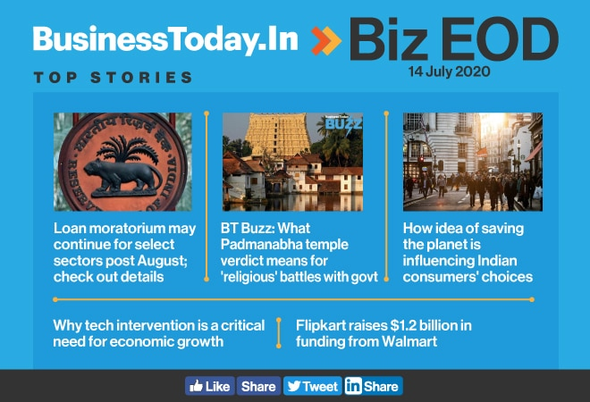 Biz EOD: Loan moratorium may extend; effects of Padmanabha temple verdict; Why tech intervention is critical