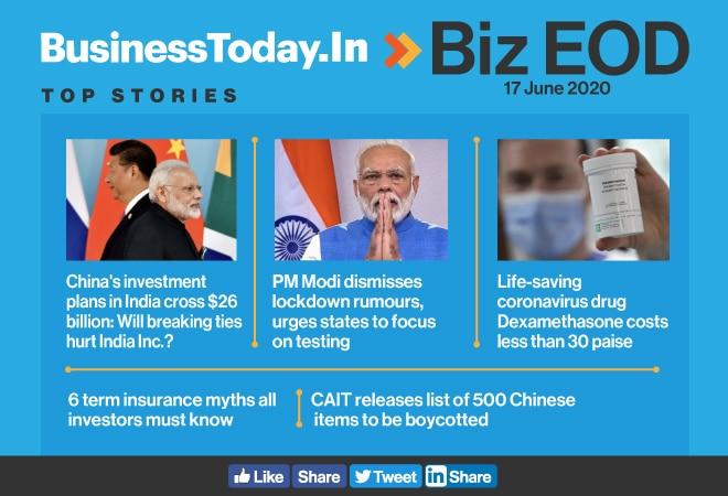 Biz EOD: Will breaking China ties hurt India Inc; PM dismisses lockdown rumours; CAIT lists Chinese items to boycott